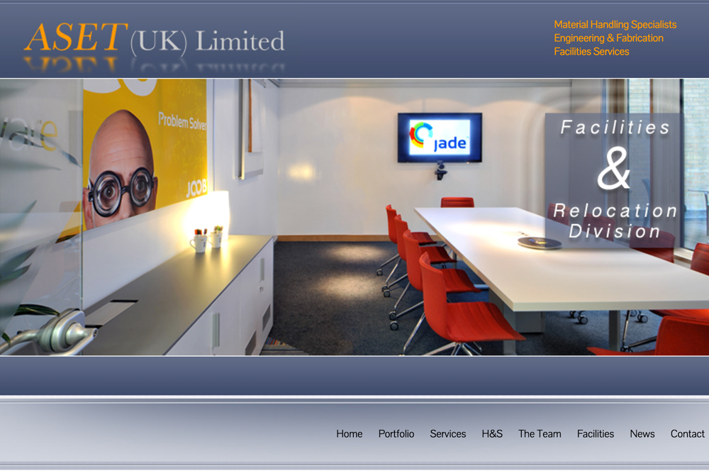 Aset Facilities Website